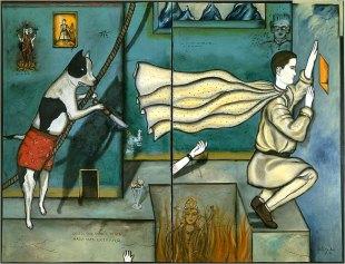 Julio Galán, Mientras Me Despierto, 1985.